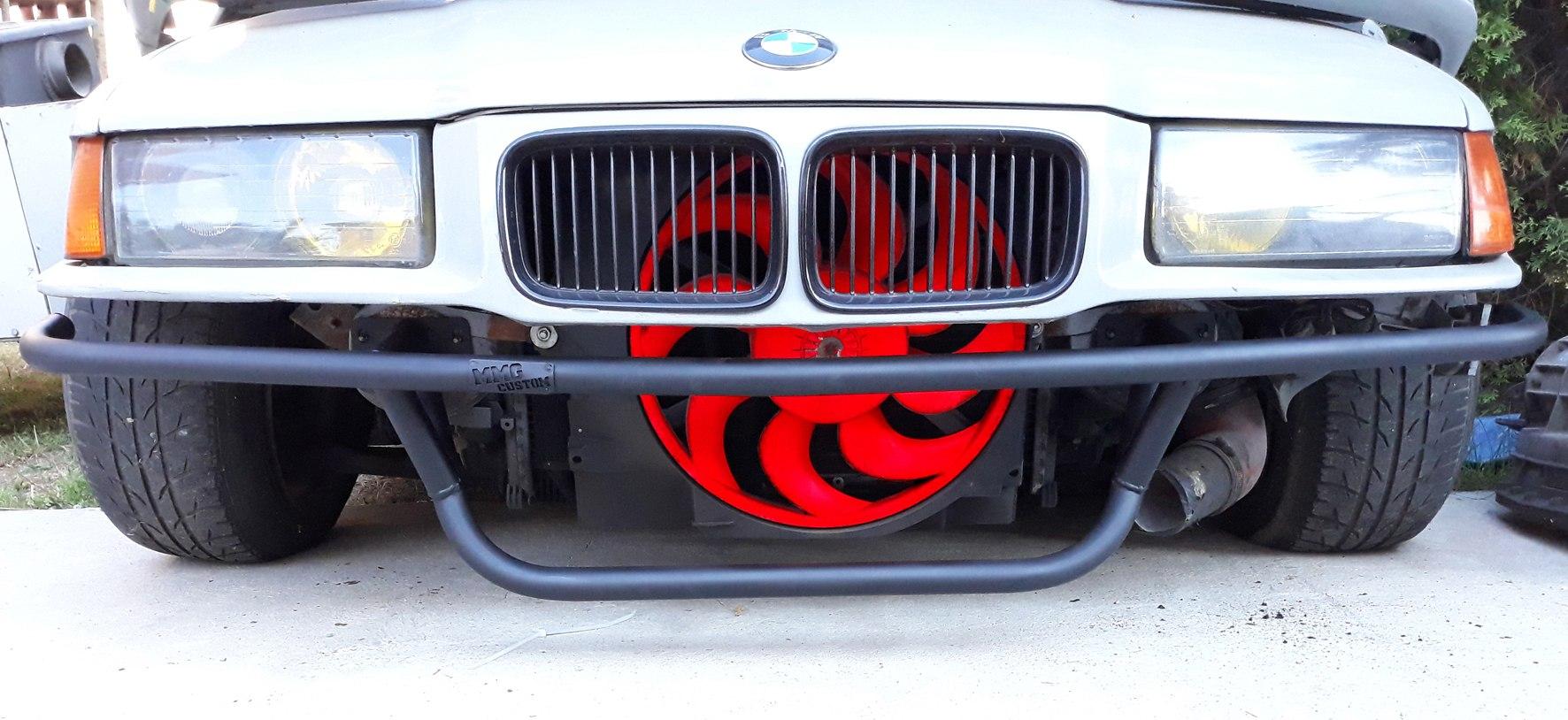 Bash Bar BMW E36 Light - GRUBYGARAGE - Sklep Tuningowy